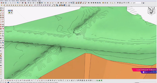 how to make terrain sketchup