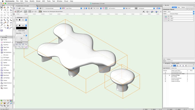 Enhance your mesh modeling skill with SubD version 2.0