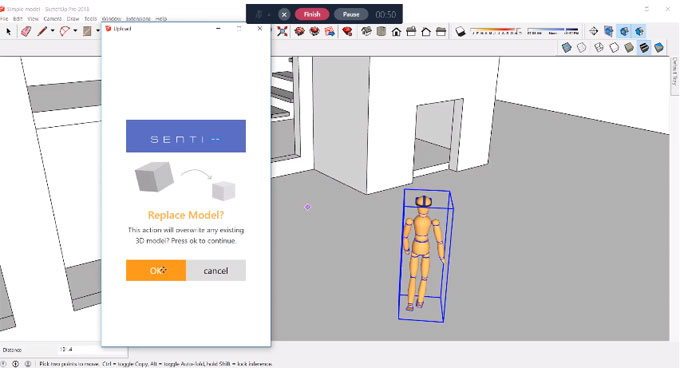 SentioVR for Sketchup – The newest web based sketchup plugin
