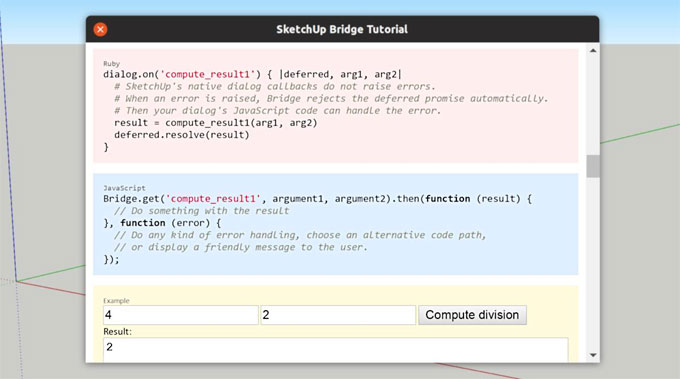 SketchUp Bridge Tutorial 3.0 is just launched