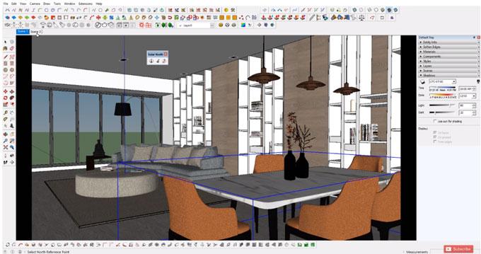 Sketchup Interiors