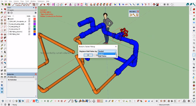 VBO Piping – The newest sketchup extension