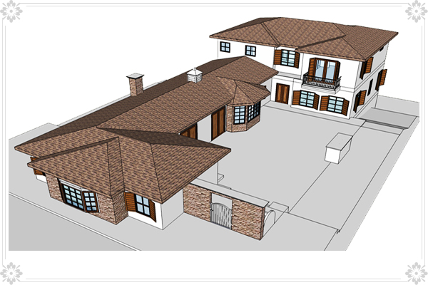 Sketchup india construction design by sketchup model for Sketchup building design