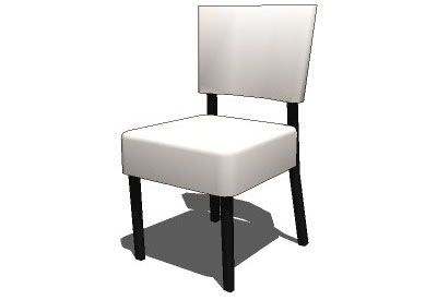 Sketchup components 3d warehouse chair dining chair for Outdoor furniture 3d warehouse