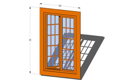Sketchup components 3d warehouse door french casement for Door 3d warehouse
