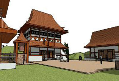 Sketchup Components 3d Warehouse Temple Buddhist Temple