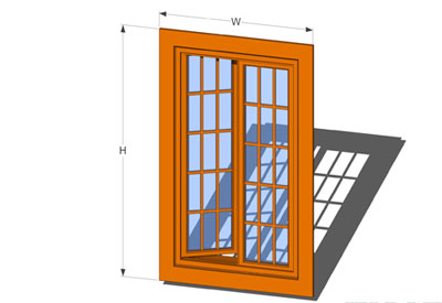 Sketchup components 3d warehouse window french casement for Door 3d warehouse